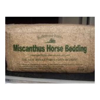 Miscanthus Horse Bedding